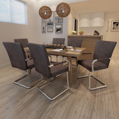 6x esszimmerstühle esszimmerstuhl stuhlgruppe essgruppe sitzgruppe, Esszimmer dekoo