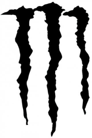 黒色のロゴ