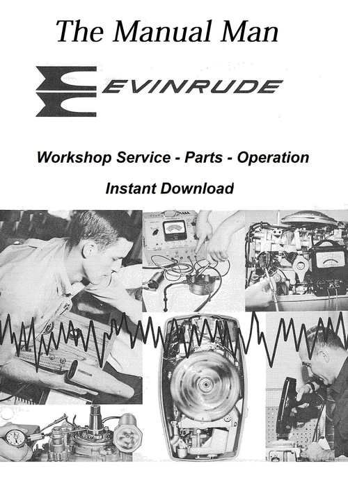 Evinrude 50 Lark 1971 Workshop Manual Repair Manuals Workshop Ignition System