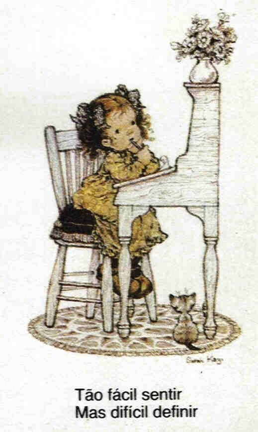 Arte: Álbum de figurinhas bem-me-quer Sara Kay: Sarah Kay Betsy, Clark Holly Hobbie, Ilustration Sara, Kay Betsy Clark Holly, Childrens Sarah, Sarah Kay2