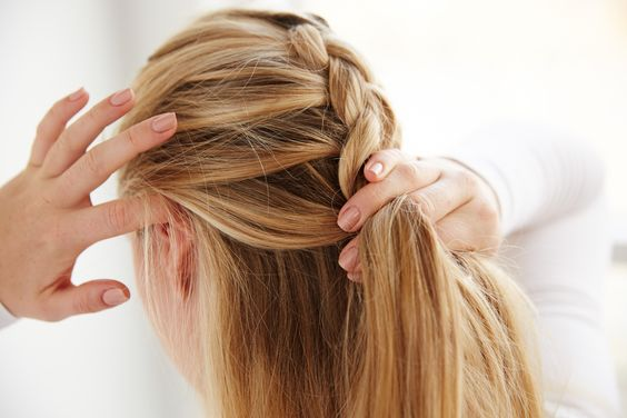 How To Make A Reverse French Braid