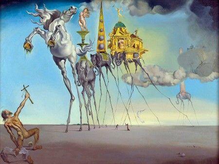 Tentación de San Antonio de Dalí en el museo Reina Sofía