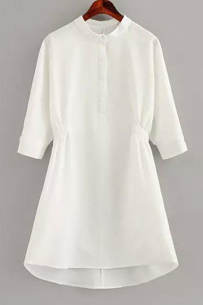 Half Sleeve Dress   Zaful