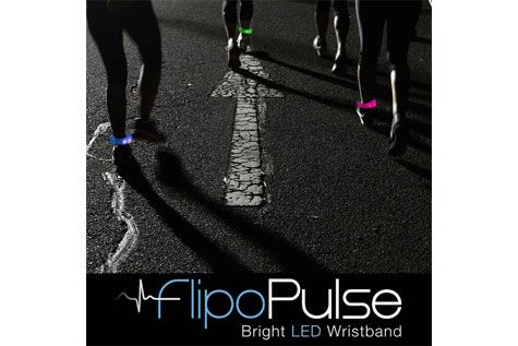 $11 for a 2 Pulse LED Motion Activated Wristband - Shipping Included