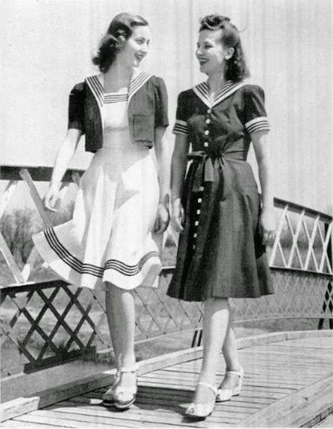 Fashions of the 1950s