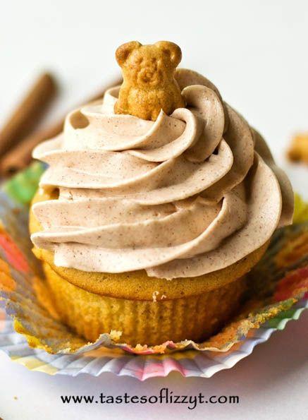 Cinnamon Buttercream Cupcakes