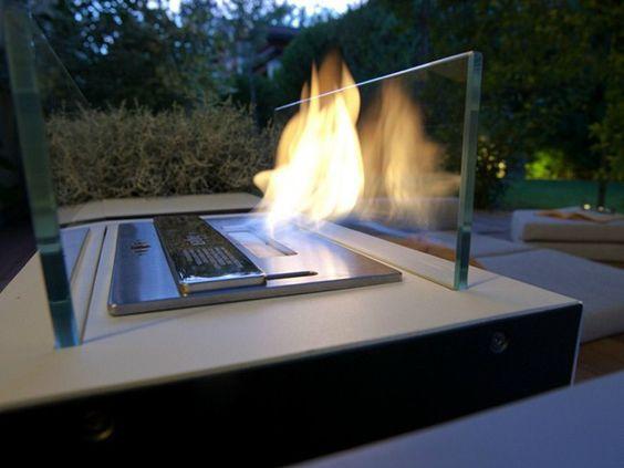chimenea exterior de bioetanol folio coleccin chimeneas exteriores