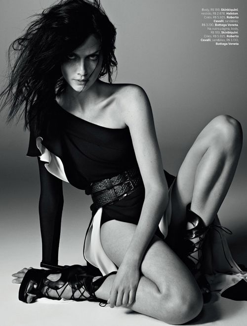 Ana Claudia Michels | Zee Nunes | Vogue Brazil November 2012 | 50 Shades of Grey — Anne of Carversville