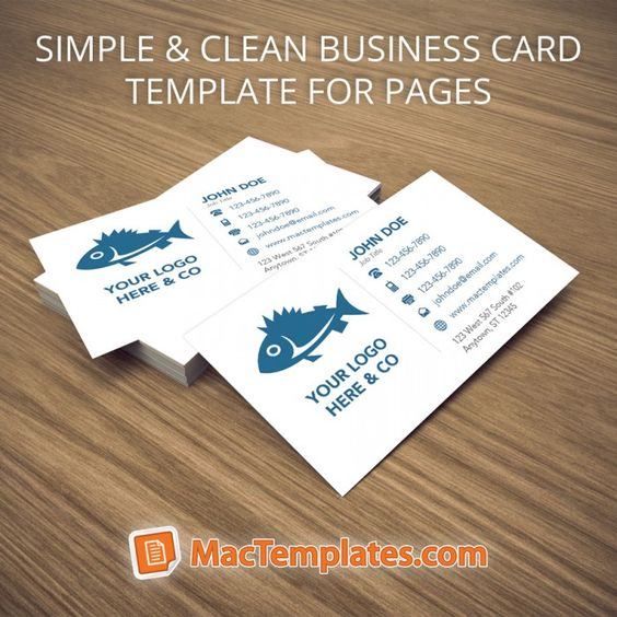 Business cards template for pages mactemplates pages business cards template for pages mactemplates wajeb Gallery