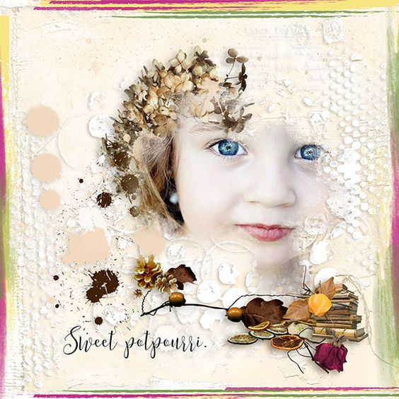 Sweet potpourri by *VanillaM Designs with kind approval Photo by Marta Everest Photography