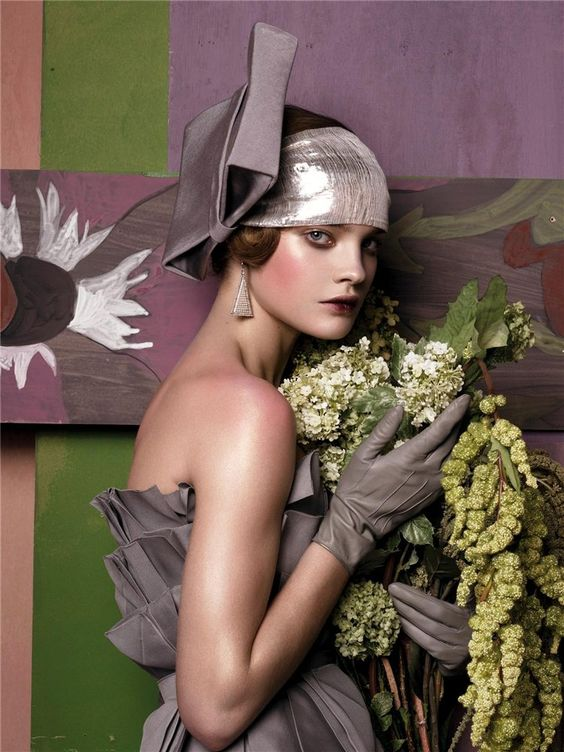 Natalia Vodianova  shot by Steven Meisel  for Vogue