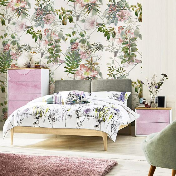 Мечты природы • Современные - Спальня - Природа - Стены росписи • Pixers® • Мы живем, чтобы изменить