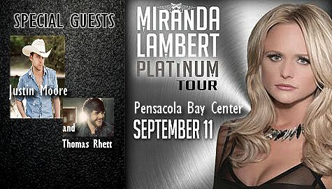 Want to win tickets to see Miranda Lambert? Have your friends add us on FB and Twitter, then message us when they do! Who ever adds the most friends by this Friday, (8/8/14) gets qualified to win!! @1stchoicepcola #1stchoicehomeimprovements.com