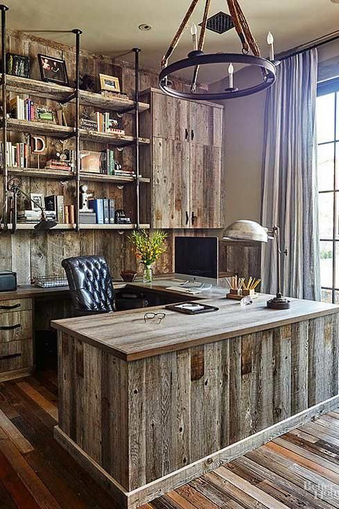 Modern Office Design Ideas For Small Spaces Work Office Ideas Equestrian Home Decor 20181108 Rustic Home Offices Rustic House Home Office Design