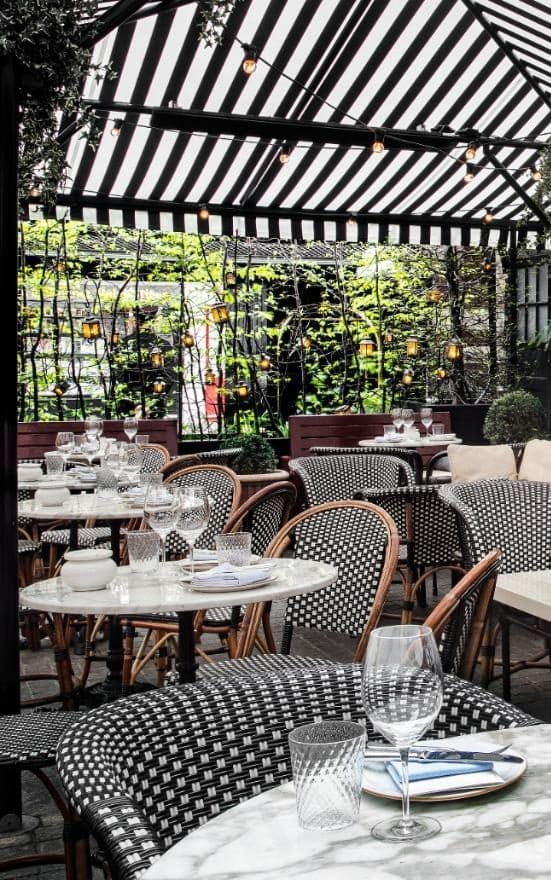 Never let it be said that London can't do al fresco dining every bit as well as our continental neighbours – you just need to know where to go.