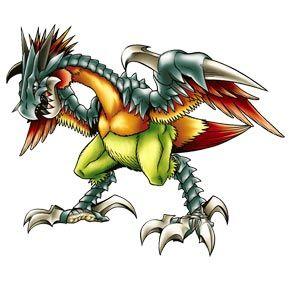 Diatrymon - Champion level Ancient Bird digimon