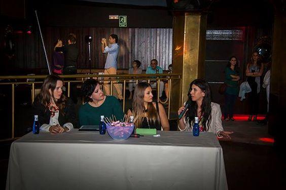 Charla sobre tendencias con nuestras invitadas: Macarena Gea, Paloma Silla, Raquel Costa, y Virtudes Langa