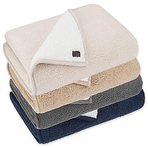 Ugg Classic Sherpa Throw Blanket Sherpa Throw Blankets Sherpa