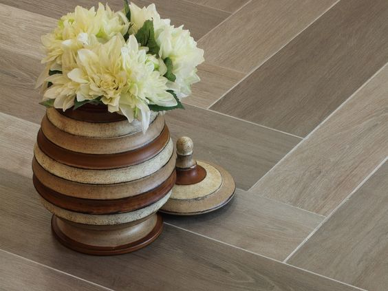 Interceramic Scenic 6 x 36 Inland Shell Quality Floors For Less.  I don't like the pattern but the color is pretty.  6x36