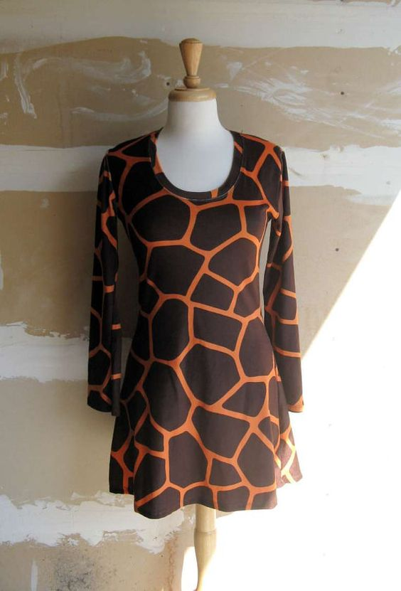 cute giraffe dress