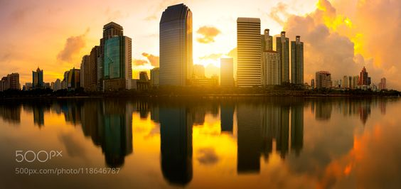 Golden city by pat138241