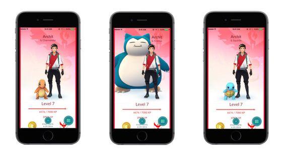 """Niantic ha anunciado la próxima característica que llegará a Pokémon Go a través de una actualización. Se trata del sistema """"Buddy Pokémon"""" (o pokémon compañero), que te permitirá añadir tu pokémon favorito a tu avatar para llevarlo a tus caminatas y recibir más recompensas y experiencia."""