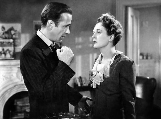 Humphrey Bogart and Mary Astor in The Maltese Falcon (John Huston, 1941)