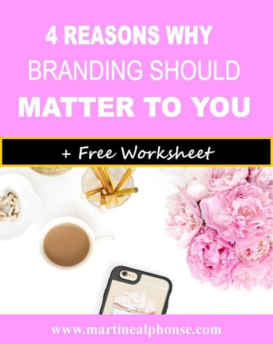 4 REASONS WHY BRANDING SHOULD MATTER TO YOU