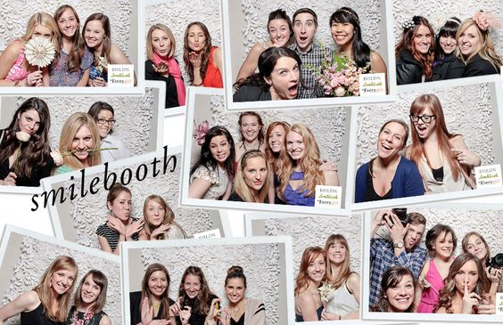 Having fun with Smilebooth at The Everygirl Event at BHLDN Chicago