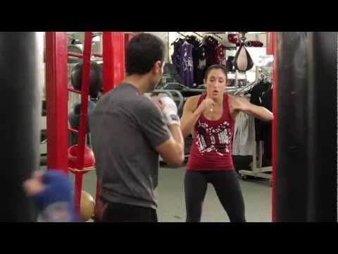 My new obsession-The LA Boxing Workout....AWESOME!!