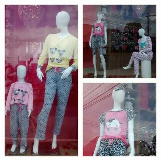 #Fofurices da nossa vitrine! Pijama quentinho, gostosinho, e super fofo. Porque nem só de lingerie vive a mulher, certo?! ;)