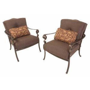 Martha Stewart Living Miramar Patio Lounge Chair 2 Pack LY58 SLC At The Hom