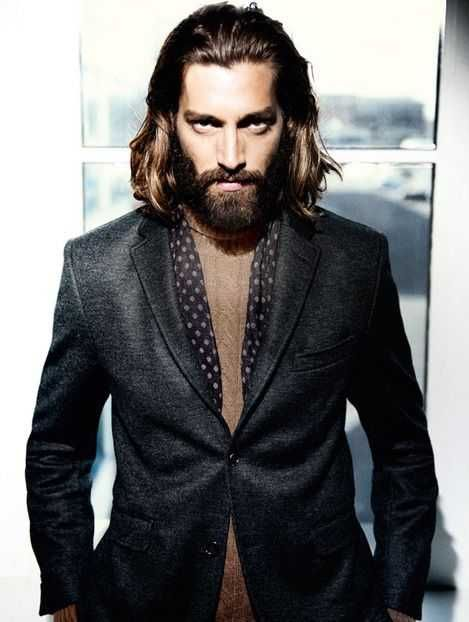 medium long hairstyles men 2021