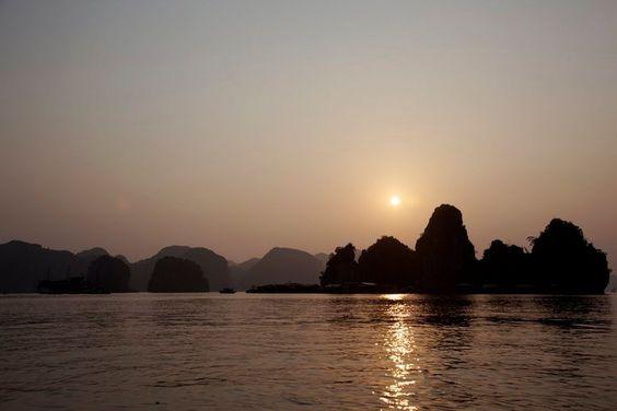 gorgeous #sunset  http://www.exoticvoyages.com/vietnam/destinations