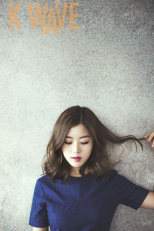 Korean Hairstyle For Shoulder Length Hair Di 2020 Gaya Rambut Pendek Gaya Rambut Medium Gaya Rambut Cantik