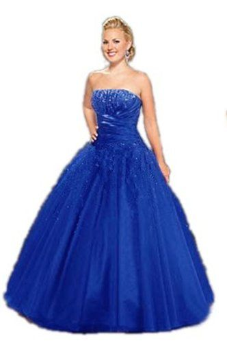 JL09 BLUE SIZE 10-24 Evening Dresses party full length prom gown ...