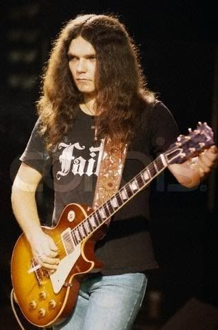 Gary Rossington   him mentioned around here i ll go with gary rossington