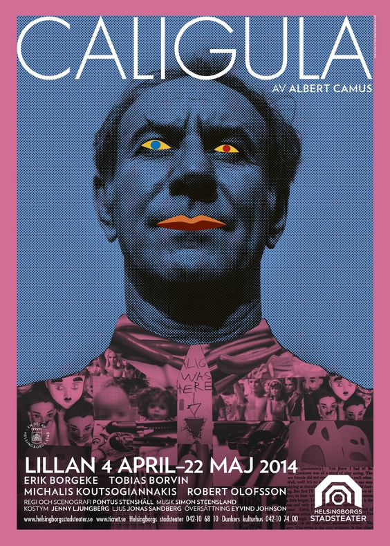 Albert Camus – Caligula. by Truls Bärg