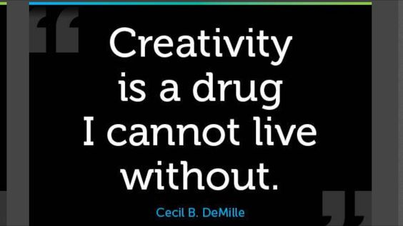 Creativity is the key to, love, success, health and pretty much just about anything.