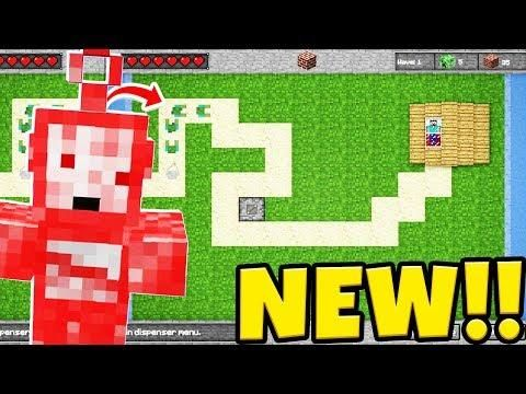 THE BEST TOWER DEFENSE GAME IN ALL OF MINECRAFT - *NEW