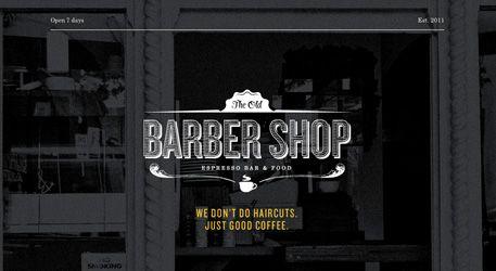 The older Barber Shop
