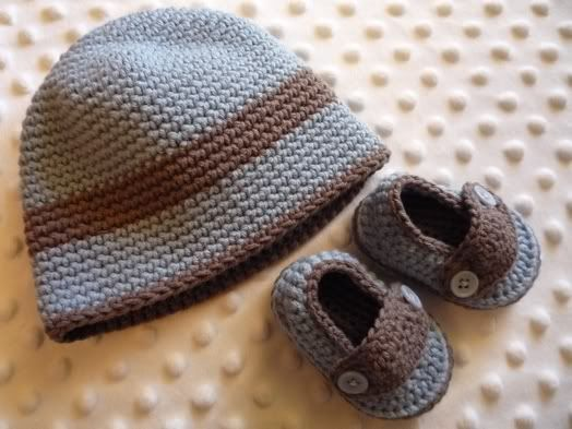 Happy Baby Crochet: Single Crochet Baby Beanie - EASY ...