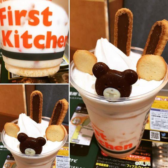 可愛くて美味しい#ハッピーおかしフロート#ファーストキッチン #メロンミルク by yukisaaari