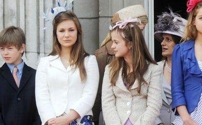 Lady Marina Charlotte And Amelia Windsor Daughters Of Earl Countess St Andrews Royals Pinterest
