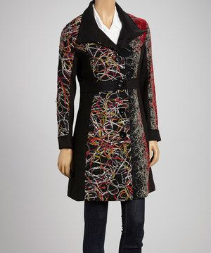 Be prepared for even the most blustery storm in a cozy coat. A bold and beautiful pattern and a warm blend of fabrics make this piece the perfect choice for women that love to be fashionable and fabulous.