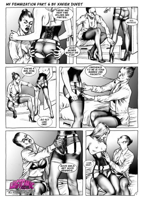 моя феминизация комиксы