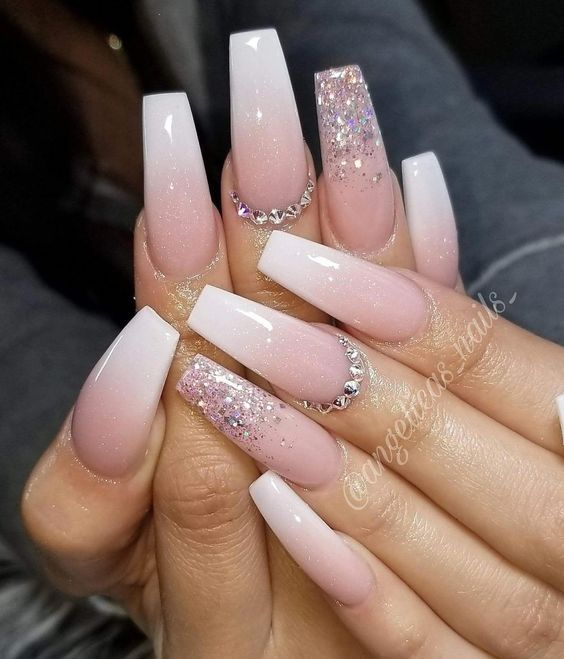 79 Gorgeous Ombre Coffin Nails Design To Upgrade Your Style 2019