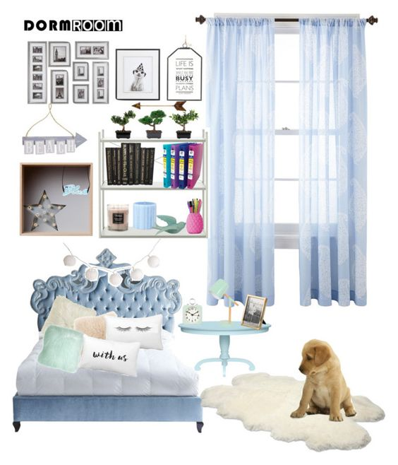 """Sin título #418"" by karlamichell on Polyvore featuring interior, interiors, interior design, hogar, home decor, interior decorating, JCPenney Home, Haute House, Muuto y ferm LIVING"