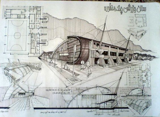 architectural Sketchs by Ehsan Olian at Coroflot.com