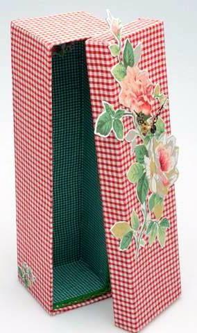 χειροποίητο κουτί δια χειρός milena (crafts)